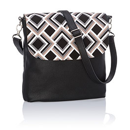 Studio Thirty-One Modern - Black Beauty Pebble w/ Deco Diamond