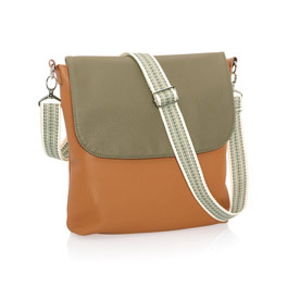 Studio Thirty-One Modern - Caramel Charm Pebble w/ Ooh-la-la Olive Pebble