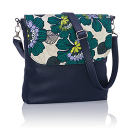 Studio Thirty-One Modern - Midnight Navy Pebble w/ Garden Party