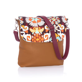Studio Thirty-One Modern - Caramel Charm Pebble w/ Tapestry Floral