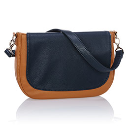 Studio Thirty-One Classic - Caramel Charm Pebble w/ Midnight Navy Pebble