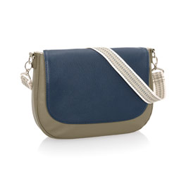 Studio Thirty-One Classic - Ooh-la-la Olive Pebble w/ Midnight Navy Pebble