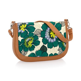 Studio Thirty-One Classic - Caramel Charm Pebble w/ Garden Party