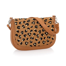 Studio Thirty-One Classic - Caramel Charm Pebble w/ Lovely Leopard Pebble