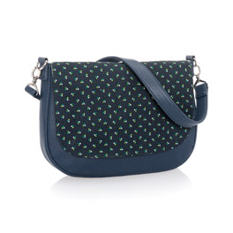 Studio Thirty-One Classic - Midnight Navy Pebble w/ Dot Trio