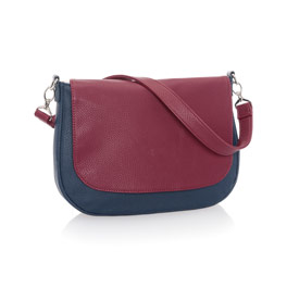 Studio Thirty-One Classic - Midnight Navy Pebble w/ Deep Merlot Pebble