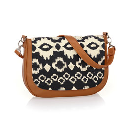Studio Thirty-One Classic - Caramel Charm Pebble w/ Ikat Bazaar