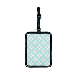 Carry Me Away Luggage Tag - Sparkling Squares