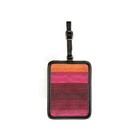 Carry Me Away Luggage Tag - Ombre Stripe