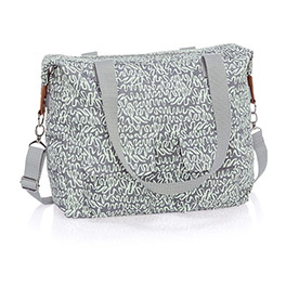 Casual Cargo Bag - Swirls & Whirls