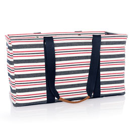 Large Utility Tote Ltd. - Harbour Twill Stripe