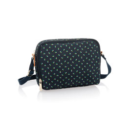 Double Zip Crossbody - Dot Trio