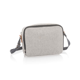 Double Zip Crossbody - Two-Tone Weave