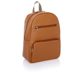 Boutique Backpack - Caramel Charm Pebble