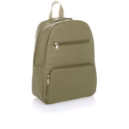 Boutique Backpack - Ooh-la-la Olive Pebble