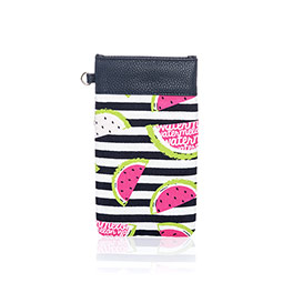 Pinch Top Eyeglass Case - Slice of Summer