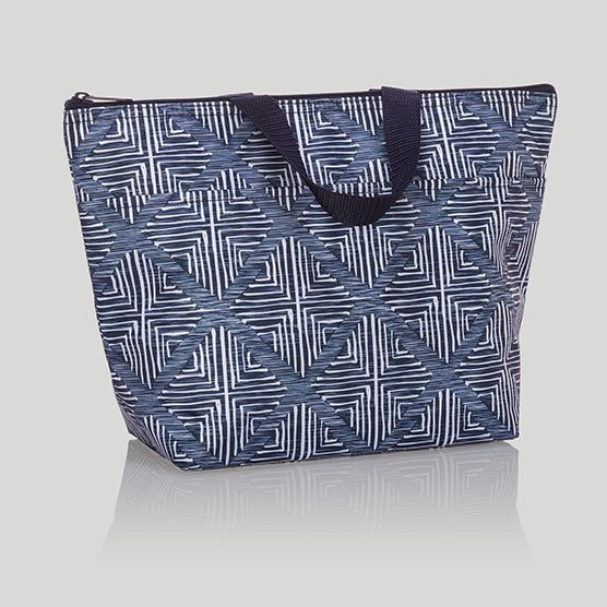 Thermal Tote - Windswept Diamonds