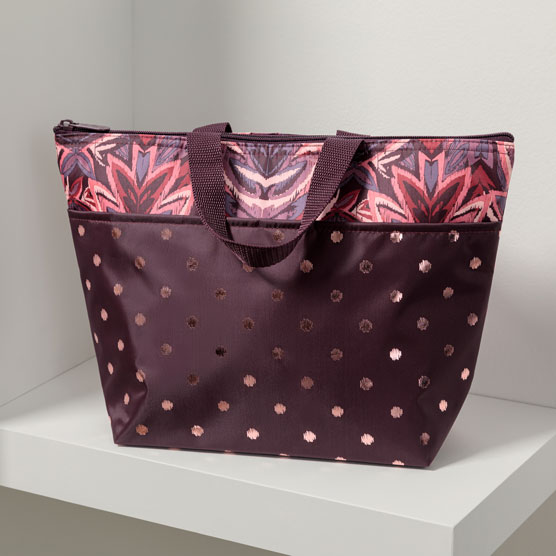 Thermal Tote - Floral Ikat