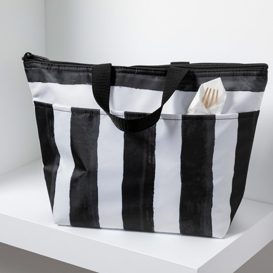 Thermal Tote - Watercolor Stripe