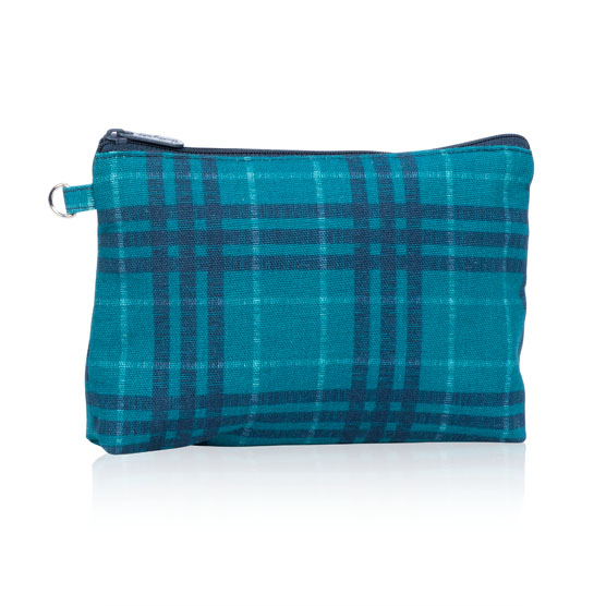 Mini Zipper Pouch - Totally Tartan