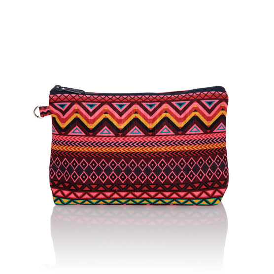 Mini Zipper Pouch - Sierra Stripe