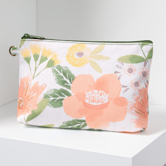Mini Zipper Pouch - Morning Floral