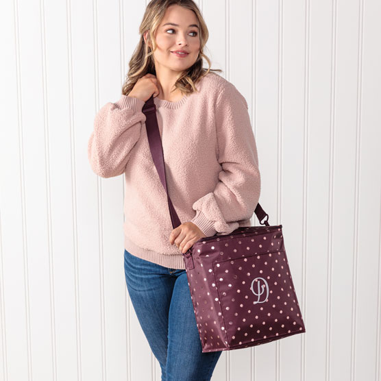 Picnic Thermal Tote - Twinkling Plum