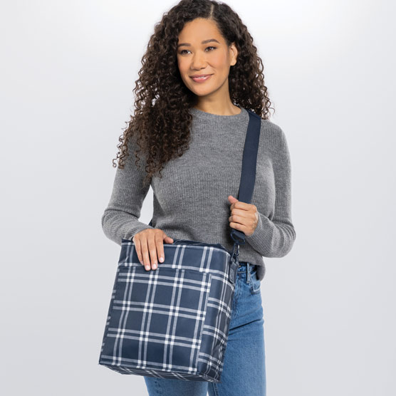Picnic Thermal Tote - Sweater Weather Plaid
