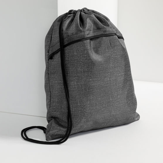 Cinch Sac - Charcoal Crosshatch