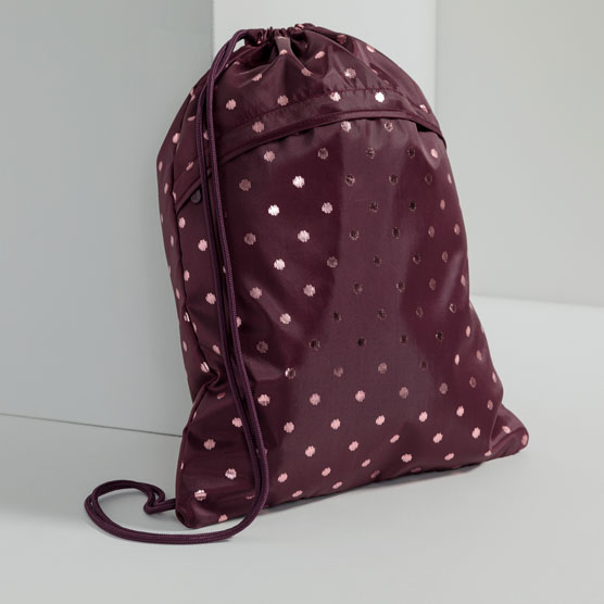 Cinch Sac - Twinkling Plum