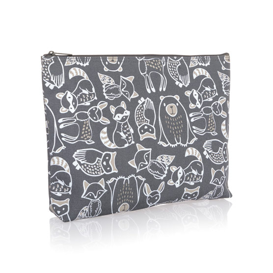 Zipper Pouch - Forest Friends