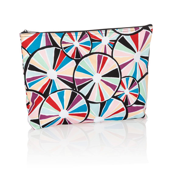 Zipper Pouch - Pinwheel Party