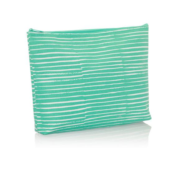 Zipper Pouch - Miami Stripe
