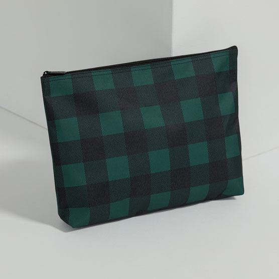Zipper Pouch - Buffalo Plaid