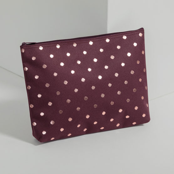 Zipper Pouch - Twinkling Plum