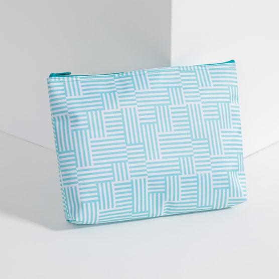 Zipper Pouch - Patchwork Stripe