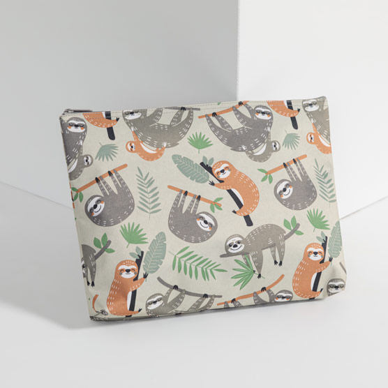 Zipper Pouch - Sloth Hangout