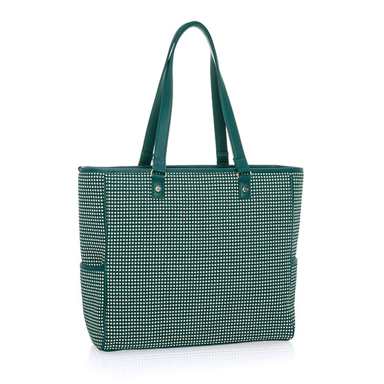 Cindy Tote - Dotty Weave