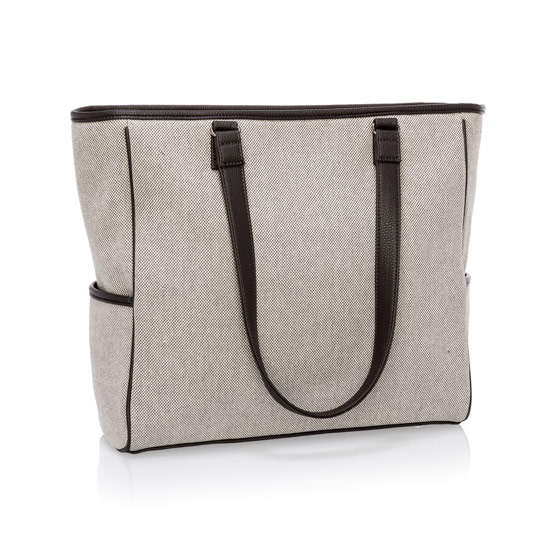 Cindy Tote - Two-Tone Weave
