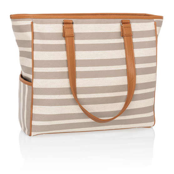 Cindy Tote - Double Stripe