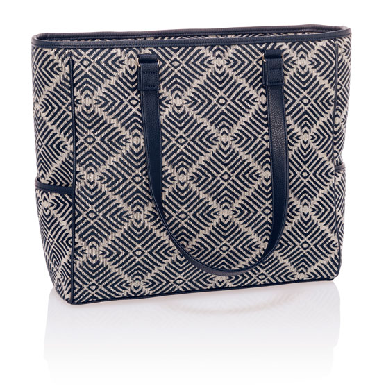 Cindy Tote - Diamond Weave