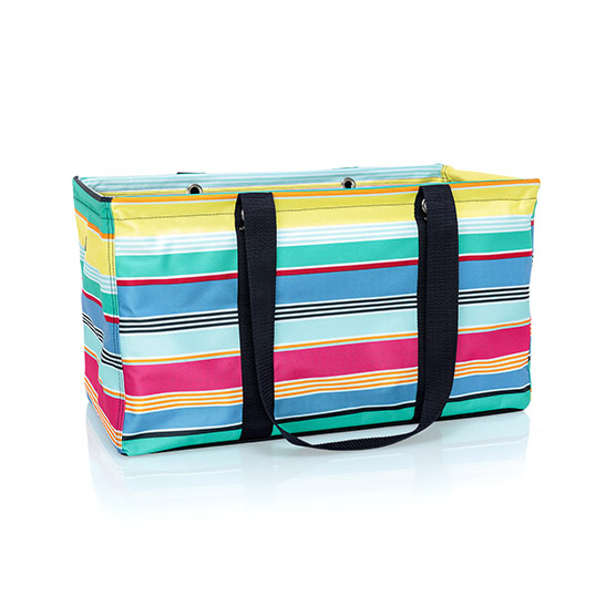 Large Utility Tote - Patio Pop