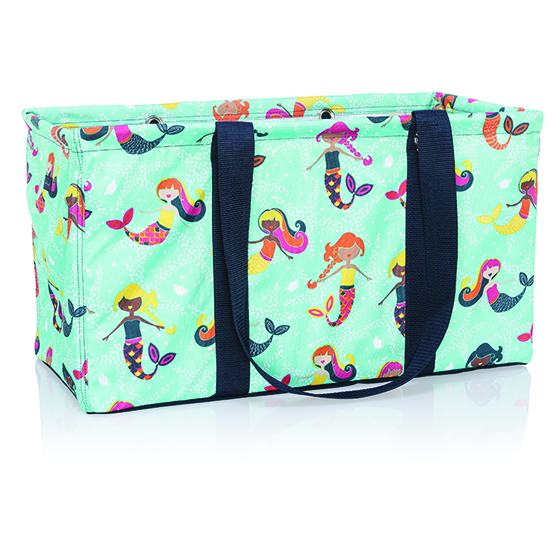 Large Utility Tote - Mermaid Lagoon