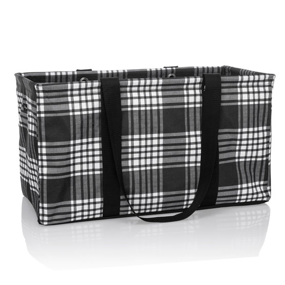 Large Utility Tote - Perfectly Plaid