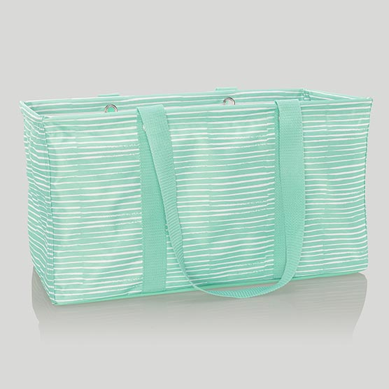 Large Utility Tote - Miami Stripe