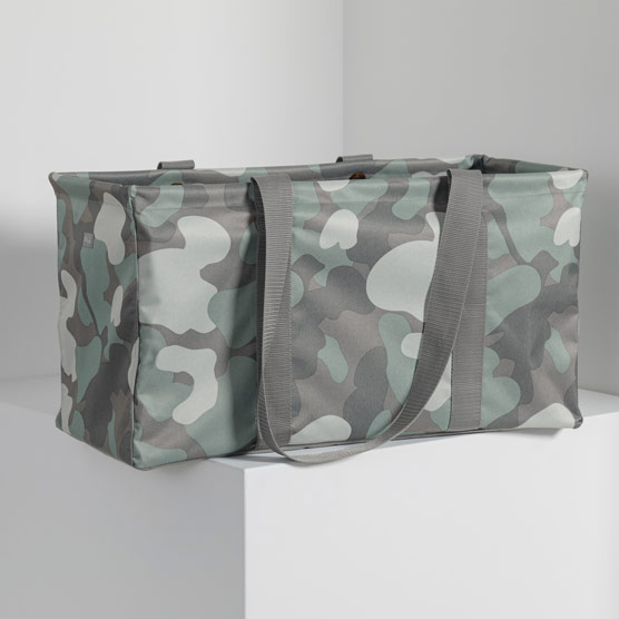 Large Utility Tote - Soft Camo
