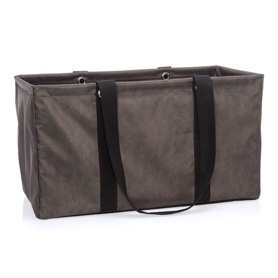 Large Utility Tote - Chestnut Distressed