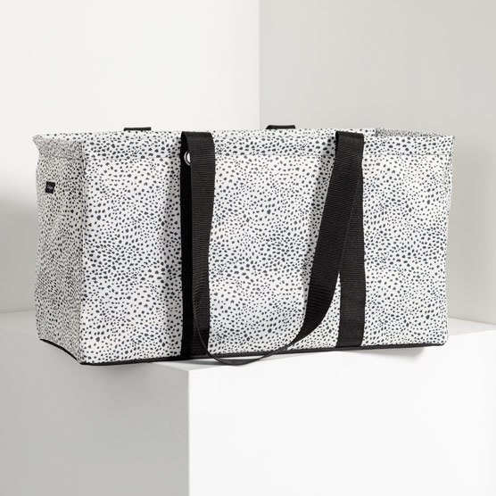 Large Utility Tote - Dainty Speckles