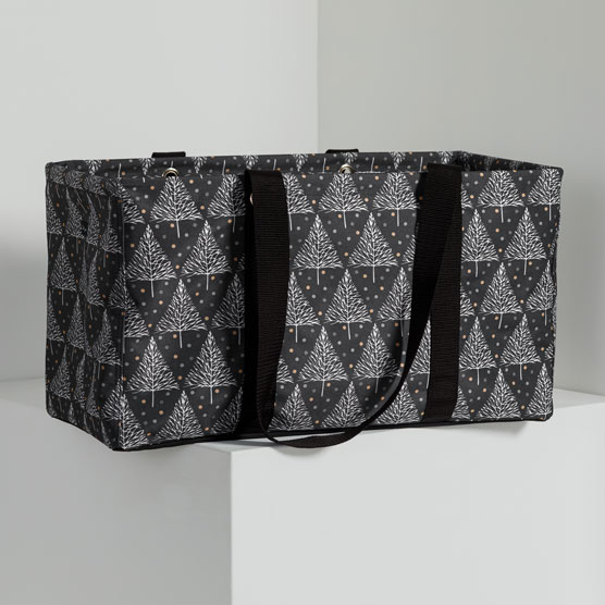 Large Utility Tote - Twinkle Trees