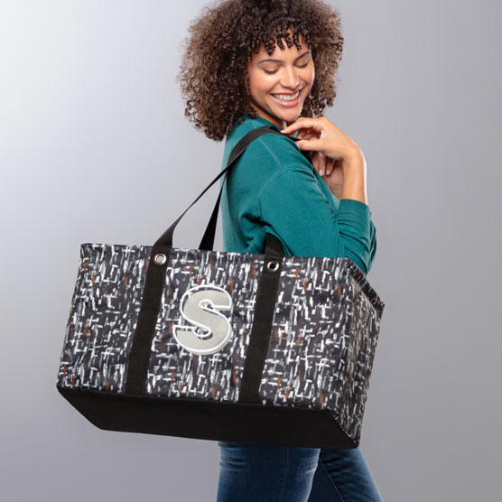 Large Utility Tote - City Scape